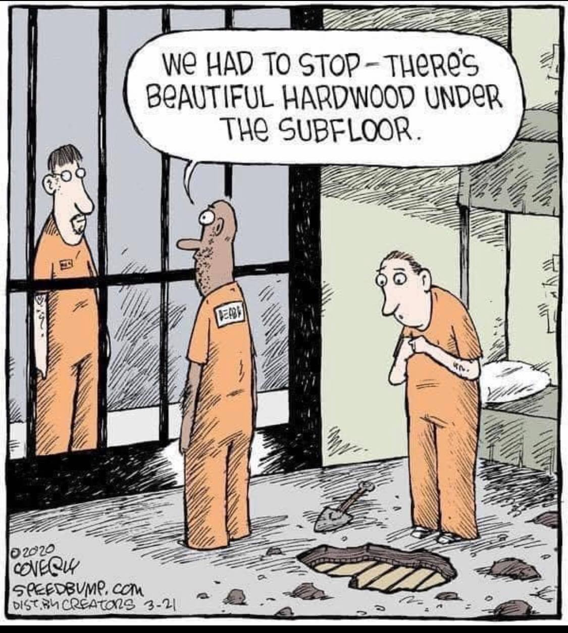 Bob Moore shared this hilarious cartoon with us. Thanks Bob. Very apropos!