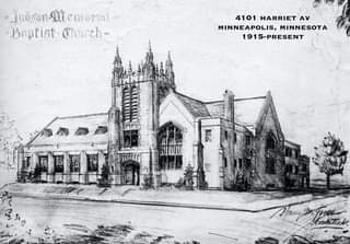 Here are a couple of churches that still exist in Minneapolis.  They are designe